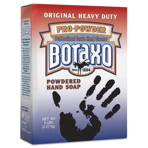 Dial 02203CT - Boraxo Powdered Original Hand Soap, Unscented Powder, 5lb Box