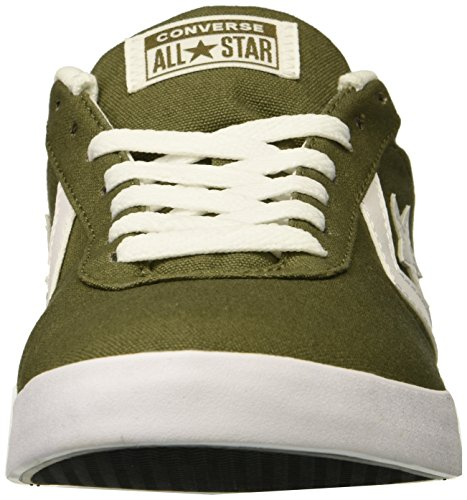 Converse Baja Lona Olive Point Olive Star medium Hombre Caña Medium w6I6rPqx
