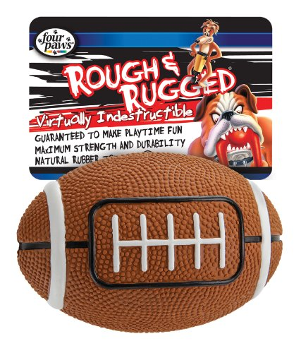 Four Paws Football with Bell, 4-Inch, My Pet Supplies