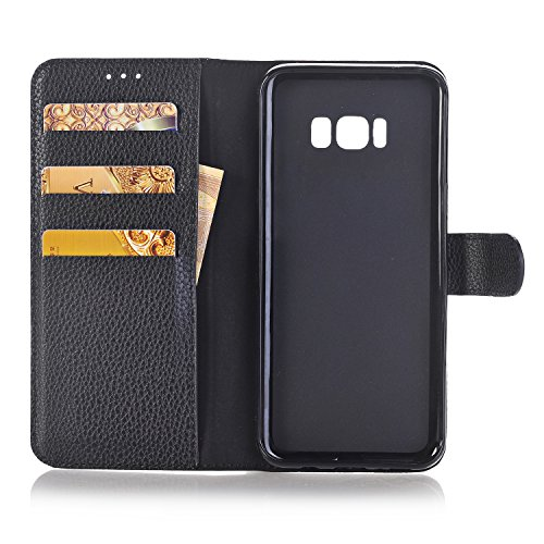 Cards Case 6 Multi S8 Candy for Slots for PU Plus amp; Samsung Money 2 Chain Galaxy Crossbody S8 Leather Wallet Poacket Plus Shiny with elecfan Envelope Lady A01 black Handbag Bag Cover Color White inch wq7zEHC