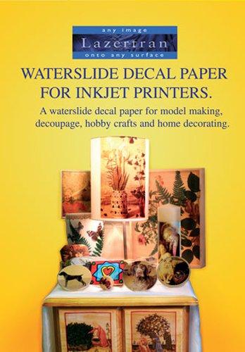 Lazertran Waterslide Decal Paper Lazertran for Inkjet