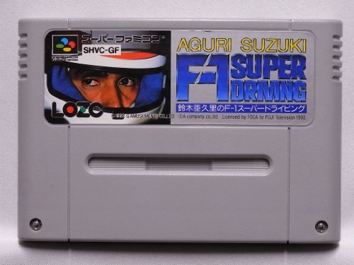 Aguri Suzuki F1 Super Driving (Japan Import) Nintendo Super NES by Nintendo