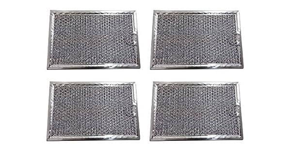 Amazon.com: Paquete de 2 aluminio malla filtro de grasa de ...