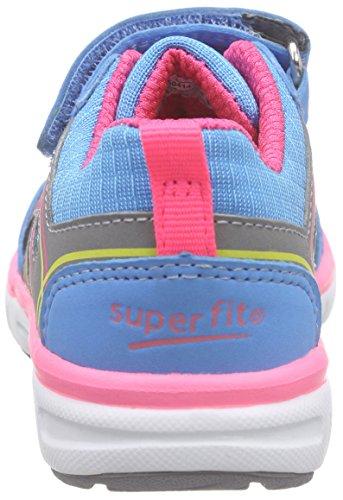 Superfit Lumis 600410 Mädchen Sneaker Blau (AQUATIC MULTI 55)