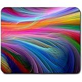 mp289 Fractal Rainbow Ocean Mouse Pad