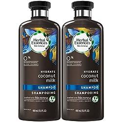 HerbalEssencesBiorenew Coconut Milk Hydrate Shampoo, 13.5 Fl Oz (2 Count)