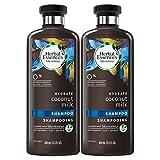 Herbal Essences Shampoo for Color Treated Hair, Coconut Milk, Paraben Free, BioRenew 13.5 FL OZ (Pack of 2)
