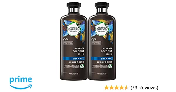 Herbal Essences Bio:renew Coconut Milk Shampoo, 13.5 Fluid Ounces (Pack of 2)