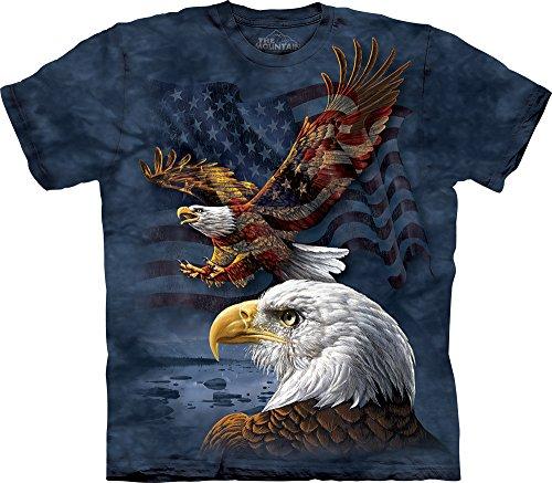Eagle Flag Adult T-Shirt - 2
