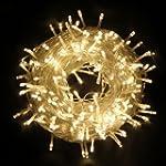 UKSOLAR 30m 300 LED Fairy Light Warm...