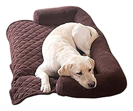 Admirable Sofa Bolster Pillow Furniture Cover For Pets In Chocolate Inzonedesignstudio Interior Chair Design Inzonedesignstudiocom