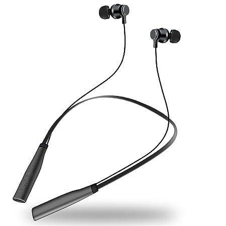 LWQIAN Auriculares Inalámbricos Deportivos In-Ear Cascos Estéreo ...