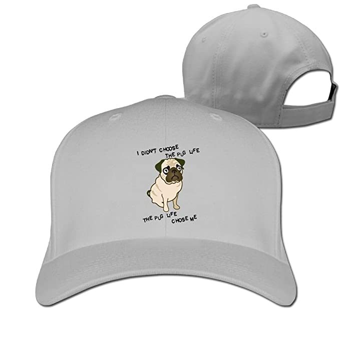 1d201f9942c Amazon.com  The Pug Life Designer Trucker Cap Peaked Hat Unisex ...