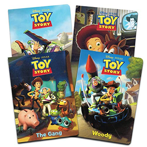 Disney Pixar Toy Story My First Books for Toddlers Kids Baby (Set of 4 Pixar Toy Story Board Books) -