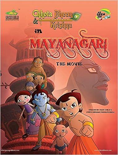 buy chhota bheem krishna in mayanagari the movie 4 book online