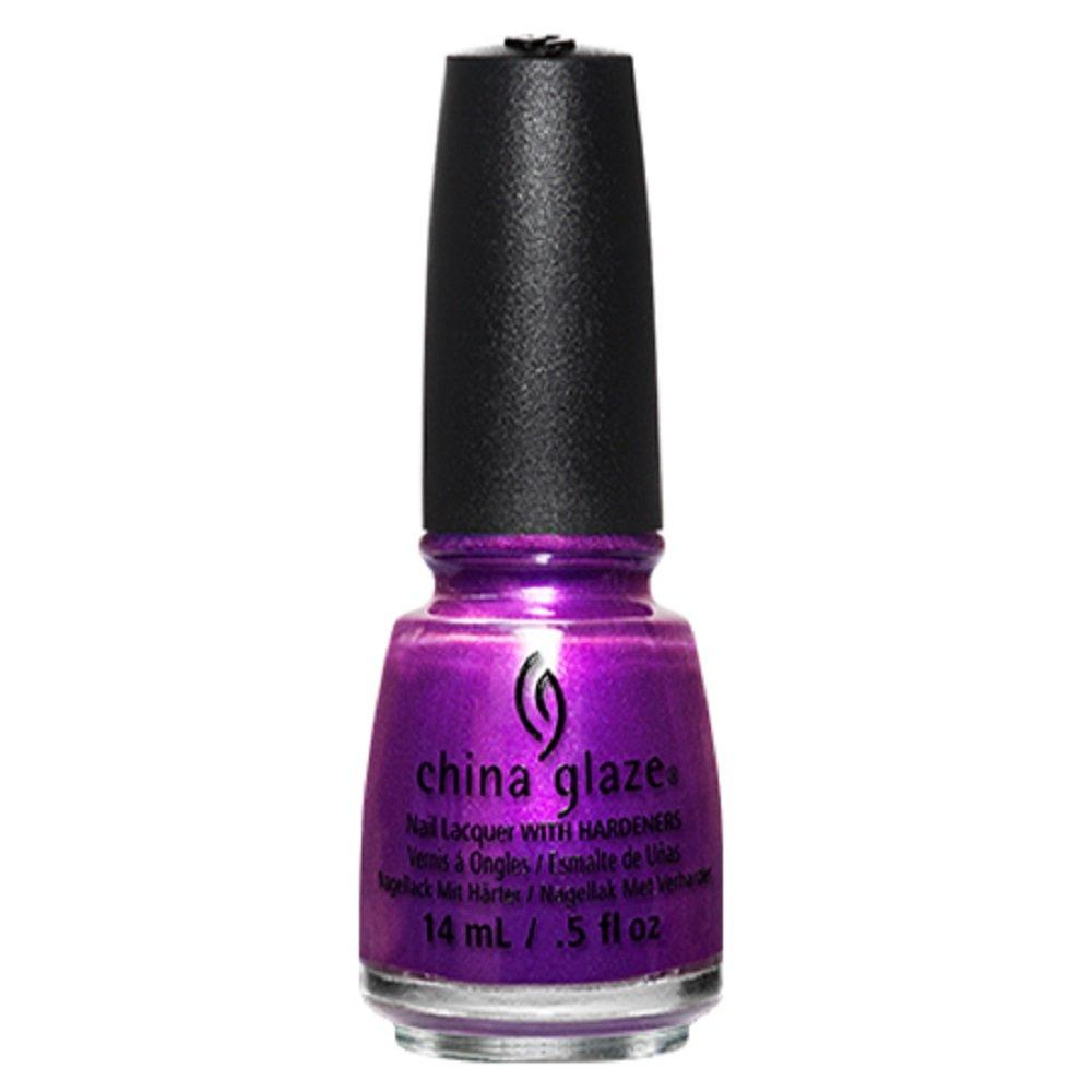 China Glaze Rebel Collection Nail Lacquer, Purple Fiction