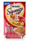 Delectables Squeeze Ups Chicken Flavor (2-PACKS) 4- Individual Tubes in Each pack Review