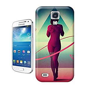 LarryToliver You deserve to have The girl creative collage art Naked woman For samsung galaxy s4 Cases by runtopwell
