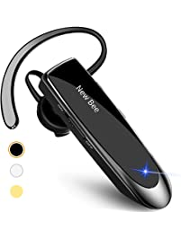 New bee Bluetooth Earpiece Wireless Handsfree Headset 24 Hrs Driving Headset 60 Days Standby Time With Noise Cancelling...