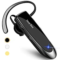 New Bee Bluetooth Earpiece V5.0 Wireless Handsfree Headset 24 Hrs Driving Headset...