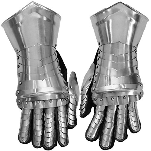 THORINSTRUMENTS (with device) Medieval Knight Gothic Style Gauntlets Functional Armor Gloves -
