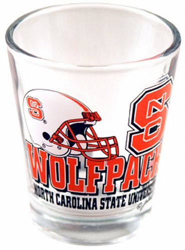 NCAA North Carolina State Wolfpack Helmet - Wolfpack Glass