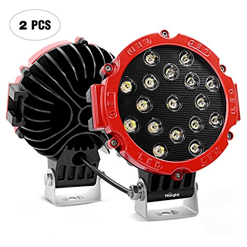 - Led Light Bar Nilight 2PCS 7