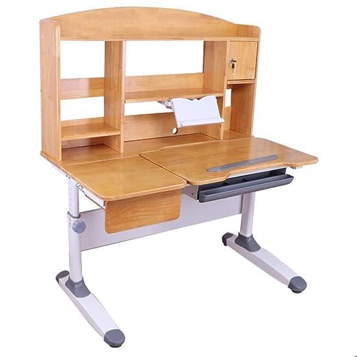 Escritorio de estudio para niños y juego de sillas Mesa de estudio ...