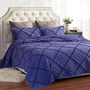 Quilt Set Solid Violet King(106