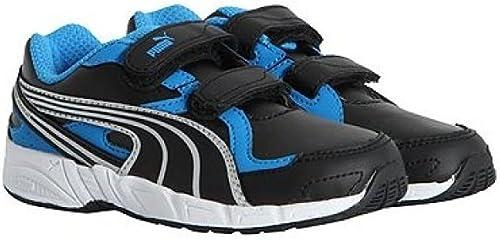 Puma AXIS 2 SL V KIDS Blanco Azul Naranja Niños Zapatillas: Amazon.es: Zapatos y complementos