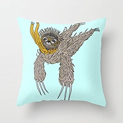 Impulsive Sloth Fashion Design Pillow Case 18''X18'' - Sincerely-Maker