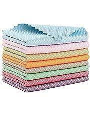 AHURGND EasyCleannCo Cloths Nanoscale, 5/10/2 0 STKS, Super absorberende microvezeldoek, magische schoonmaakvrag, nanoschaal streak-free reinigingsdoeken herbruikbaar