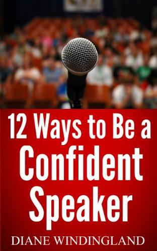 12 Ways Be Confident Speaker ebook product image
