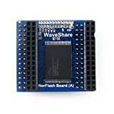 Korowa S29GL128P NorFlash Module Memory Storage Board with Extra 128M Bit Memory Development Board Module Kit