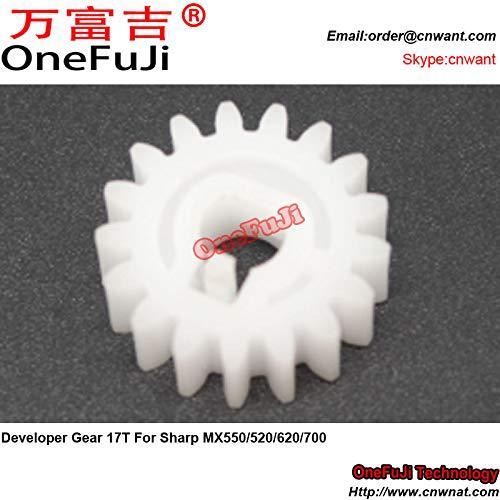 Printer Parts 10pcs I4 Developer Gear 17T for Sharp MX 550 520 620 700 MX550 MX520 MX620 MX700 by Yoton (Image #4)