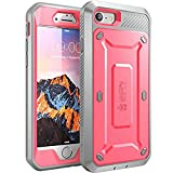 SUPCASE Unicorn Beetle Pro Series Design for iPhone 8 Case, Full-Body Rugged Holster Case with Built-In Screen Protector for Apple iPhone 7 2016 / iPhone 8 (2017 Release) (Pink)