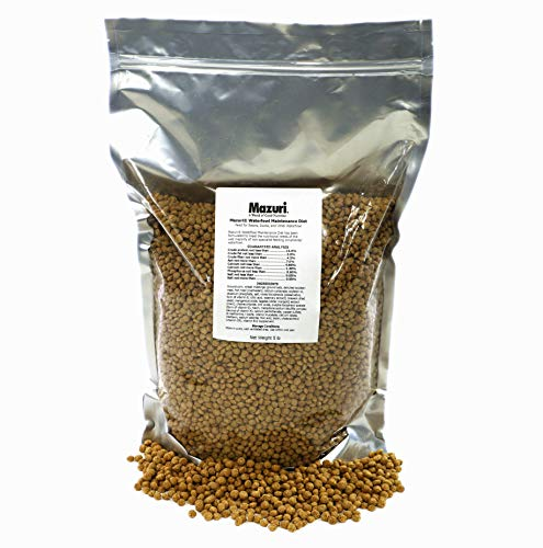 Mazuri Waterfowl Maintenance Swan and Duck Food 5 lb
