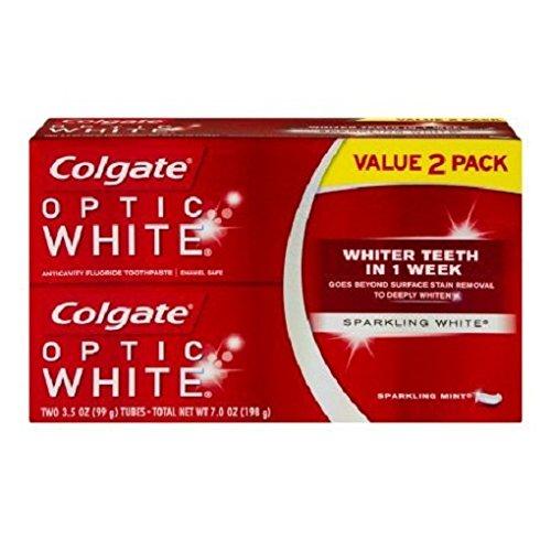 Colgate Optic White Toothpaste Sparkling