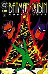 The Riddler invades a holiday gathering of Gotham's most famous fathers and sons in order to expose Batman and Robin, whom he deduces must be present. Everyone is suspect and if the Riddler can't figure out which pair is our heroes, he'll sim...