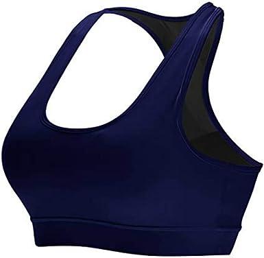 Litthing Sujetador Deportivo para Mujeres Sin Costuras Almohadillas Extraíbles Yoga Run Bra para Mujer Sujetador Deportivo de Impacto Medio…: Amazon.es: Ropa y accesorios