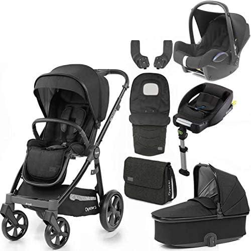 Babystyle Oyster 3 Noir - Saco de dormir para coche con funda para capazo y base isofix: Amazon.es: Bebé