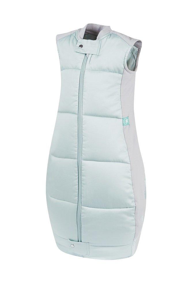 ergoPouch 3.5 TOG Organic Cotton Quilt Sleeping Bag, Mint, 2-12 Months