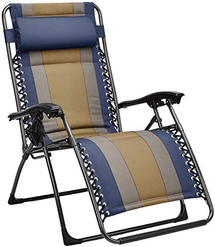 AmazonBasics Padded Zero Gravity Chair product image