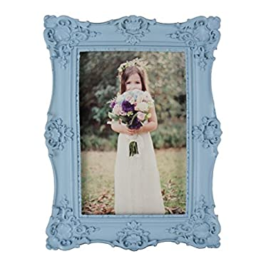 Kingwin Resin 4 By 6 Inch Photo Frame (blue)