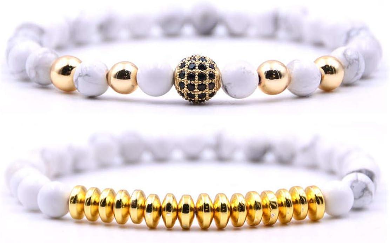 Mens Yoga Chakra Stone Bracelet Polished Onyx Irregular Reiki Rhinestone Bangle