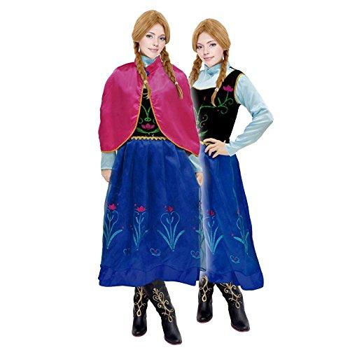 Disfraz Princesa de Nieve mujer adulto para Carnaval (M): Amazon.es: Juguetes y juegos