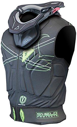 Demon Snow Shield Vest - Men's Black/Grey, M