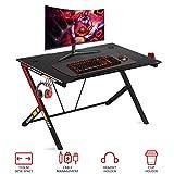 "Best Gamer Desks - oneinmil Gaming Desk Gaming Table - 43.5"" R Review"