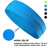Non-Slip Yoga, Sport, Cooling Headbands That Can Absorb Sweat And Which Has A