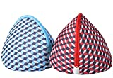 Large Bra Wash Bags, Daly Kate Mesh Big Bra Laundry Bags with Premium Zipper, Clothing Washing Bags for Bras Lingerie, Laundry,Stocking, Underwear and Delicates Set of 2 for Women
